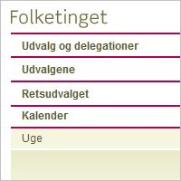 links folketinget